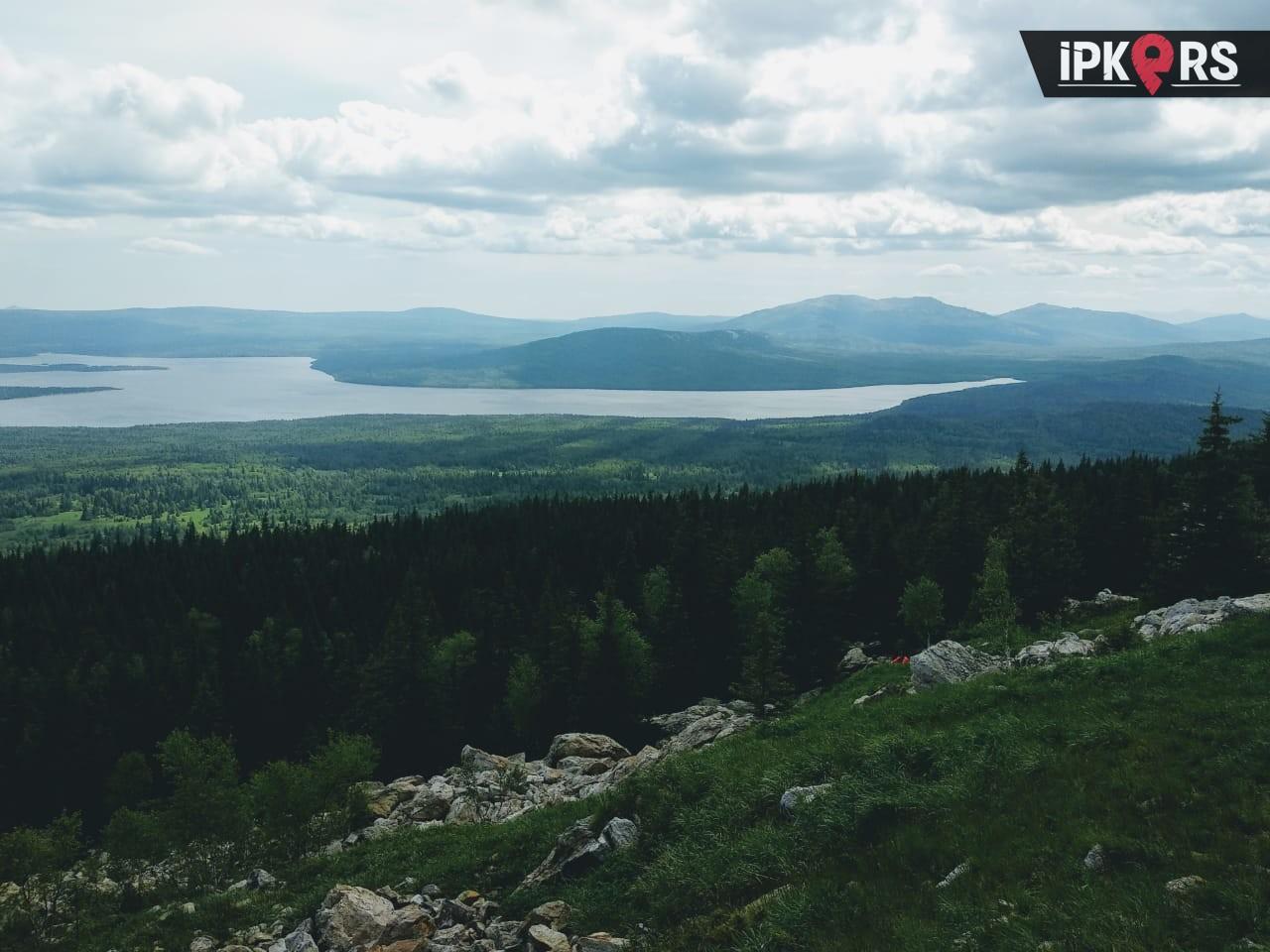 Однодневный поход на хребет Зюраткуль, озеро Зюраткуль с ...